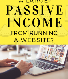 Passive Income from website