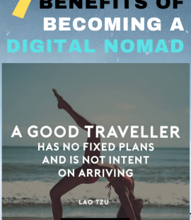 7 benefits of becoming a Digital Nomad