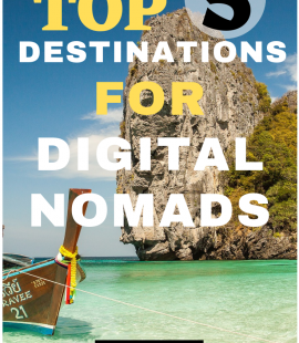 Top 5 Destinations for Digital Nomads